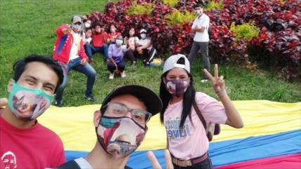 Vídeo: Jóvenes venezolanos alzan la voz en apoyo a los palestinos
