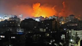 Israel bombardea la famosa torre residencial Al-Andalus en Gaza