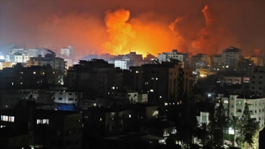 Israel bombardea la famosa torre residencial Al-Andalus en Gaza | HISPANTV