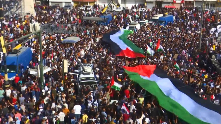 Marchas de millón fustigan atrocidades de Israel en Día de la Nakba