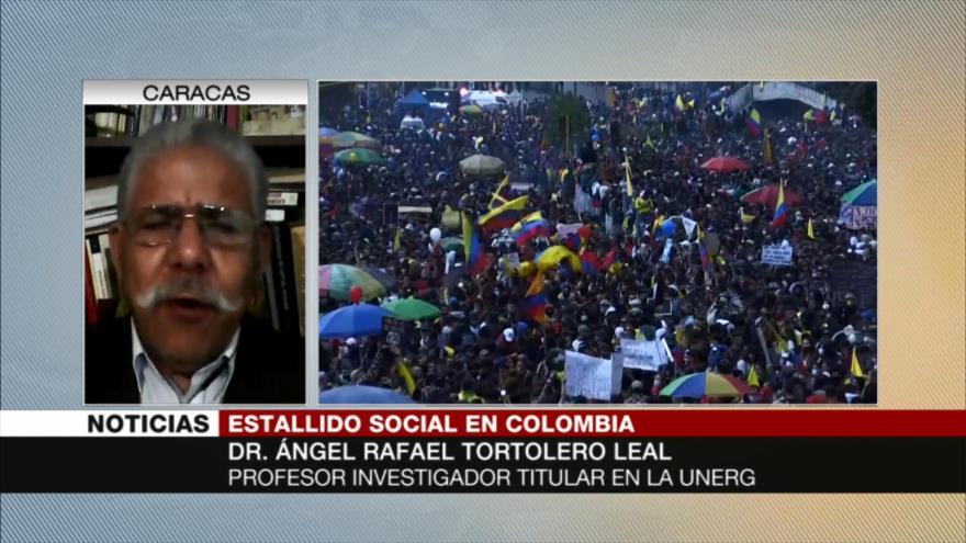 Leal: Colombia seguirá protestas porque no tiene nada que perder