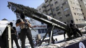 Palestina desvela misil Qasem, capaz de alcanzar todo Israel
