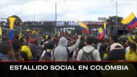 Atrocidades israelíes. Israel viola DDHH. Protestas en Colombia - Boletín: 12:30 - 16/05/2021