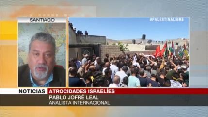Jofré Leal: Israel debe ser juzgado por crímenes de lesa humanidad