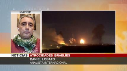 Lobato: EEUU y Europa respaldan a Israel hasta su colapso