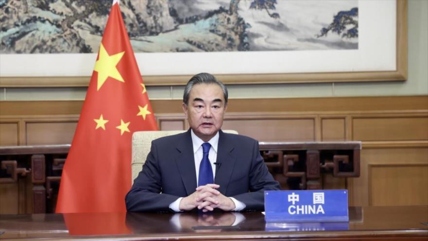 El ministro de Exteriores de China, Wang Yi.