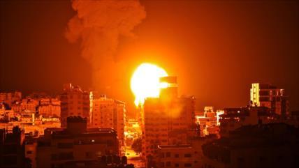 Dentro de Palestina en séptima noche de escalada bélica israelí