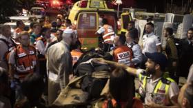 Vídeo perturbador: Colapso de sinagoga deja 2 muertos y 213 heridos