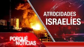 El Porqué de las Noticias: Atrocidades israelíes. Elecciones en chile. Presidenciales en Perú
