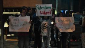 Chilenos gritan: ¡No más apartheid, no más masacre de palestinos!