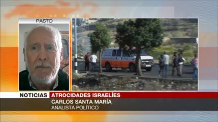 Santa María: Israel comete un holocausto contra los palestinos