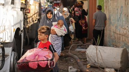 ONU: Ataques de Israel han dejado a 52 000 palestinos sin hogar