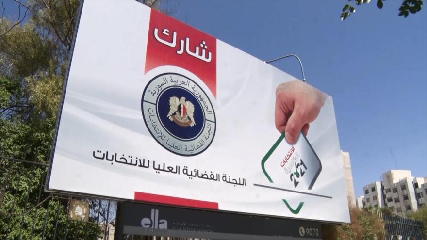 Arranca cuenta regresiva en Siria para las presidenciales de 26-M