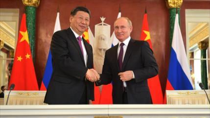 Putin: Lazos con China, en su nivel más alto por cooperación nuclear