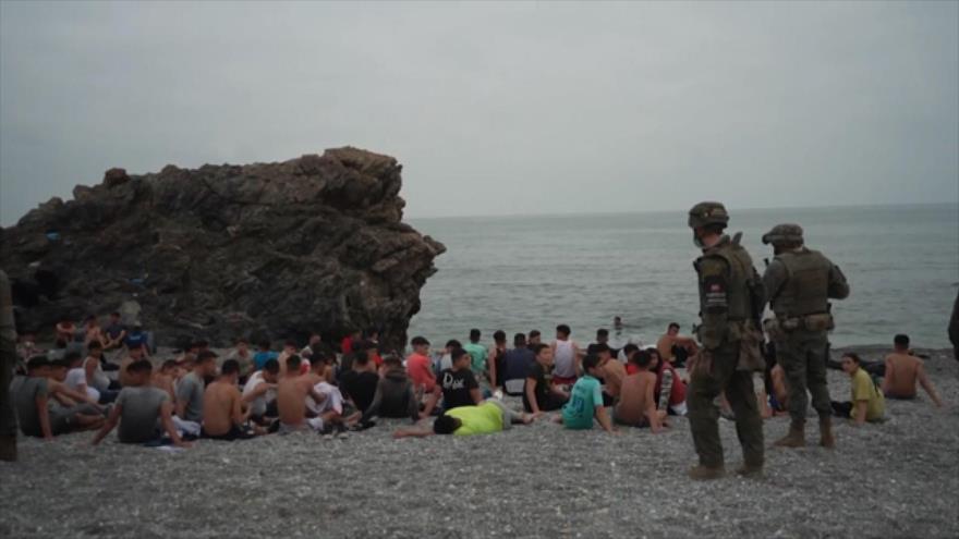 Mano dura contra migrantes por el Gobierno y Ejército de España | HISPANTV