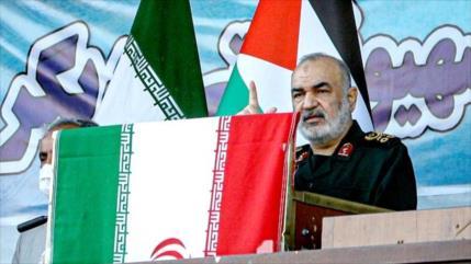 Gral. iraní: No hay ningún lugar seguro para sionistas en Palestina