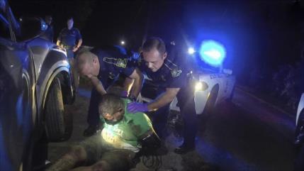 """""""Lo asesinaron"""": Vídeo revela otro 'caso George Floyd' en EEUU"""
