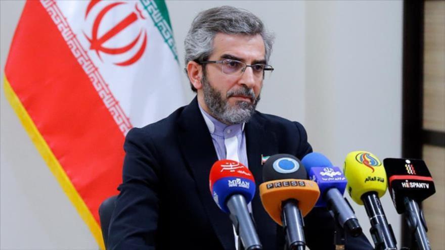 El director del Consejo de Derechos Humanos de Irán, Ali Baqeri Kani.