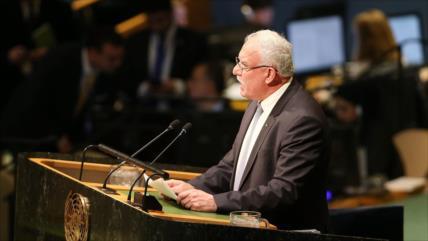 Palestina pide ante ONU responsabilizar a Israel en vez de armarlo
