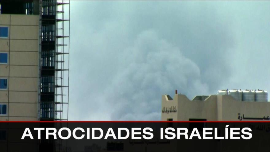 Atrocidades israelíes. Palestina pide acción internacional. Crisis en Colombia - Boletín: 16:30 - 20/05/2021