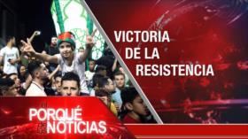 El Porqué de las Noticias: Resistencia palestina vence. Tensión EEUU-Rusia. Discurso de AMLO