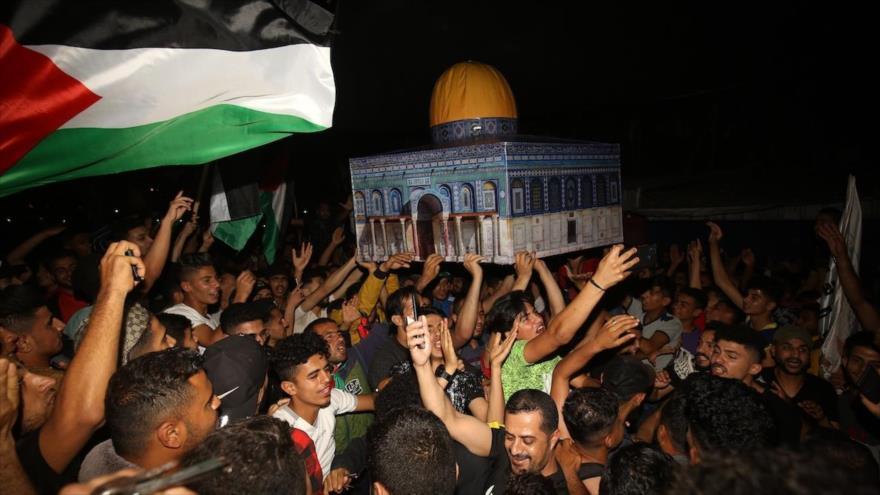 "Palestinos celebran victoria; Israel llora por tregua ""vergonzosa"" | HISPANTV"