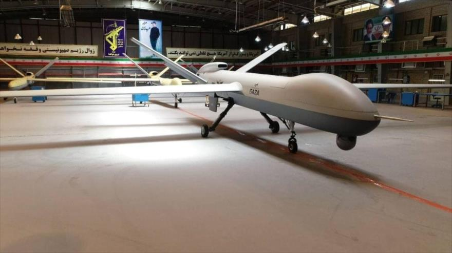 """Cuerpo de Guardianes de Irán estrena su dron supersónico """"Gaza""""   HISPANTV"""