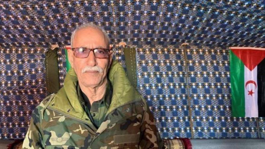 líder independentista del Sáhara Occidental, Brahim Ghali