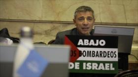 Diputado argentino pide acabar con Israel y establecer un Estado palestino