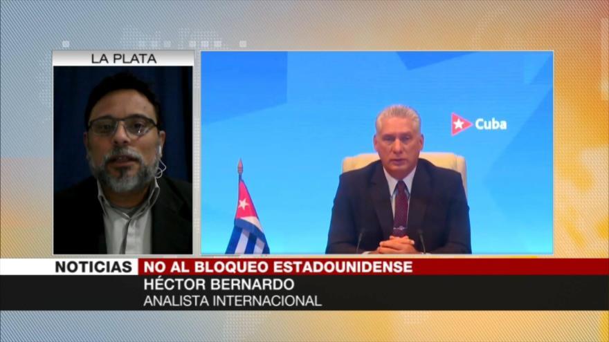 Bernardo: Solidaridad internacional anulará bloqueo de EEUU a Cuba