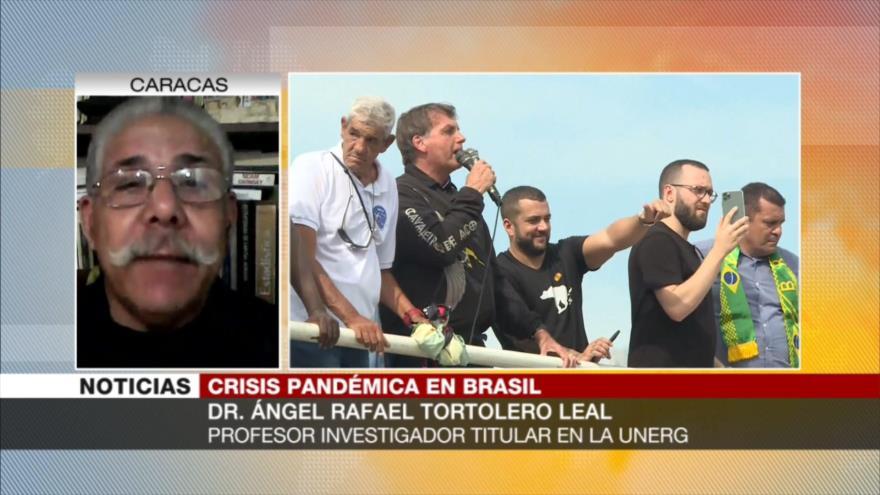 Tortolero: Bolsonaro ratifica su irresponsabilidad para gobernar | HISPANTV