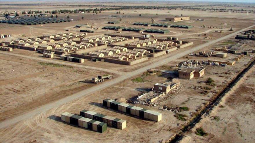 La base aérea de Ain al-Asad, en la provincia iraquí de Al-Anbar.