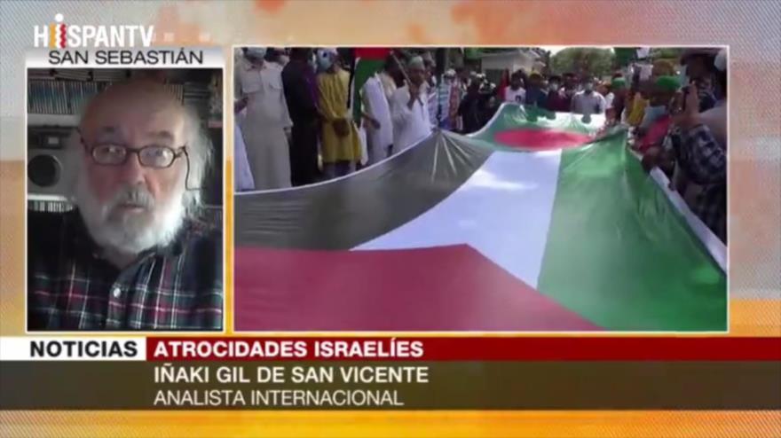 Gil: Apoyar a Palestina es boicotear industria del terror israelí   HISPANTV