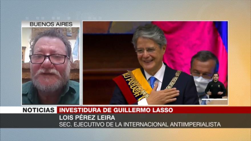 Pérez: Es muy difícil que Lasso recupere economía de Ecuador