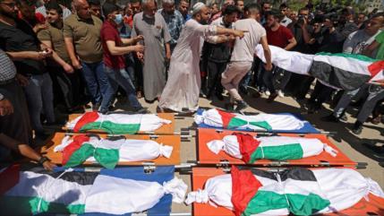 Gaza actualiza cifra de víctimas de agresión israelí: 253 muertos