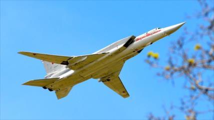 Rusia despliega por 1.ª vez bombarderos Tu-22m3 en su base en Siria