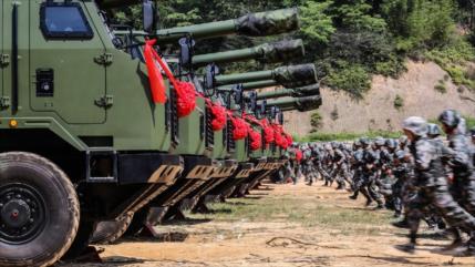 China se blinda más; realiza ensayos de artillería a gran altura