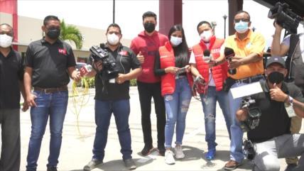 Hernández fustiga contra la prensa hondureña