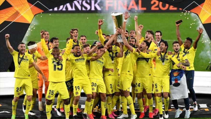 El Villarreal vence al Manchester United y gana la Liga de Europa