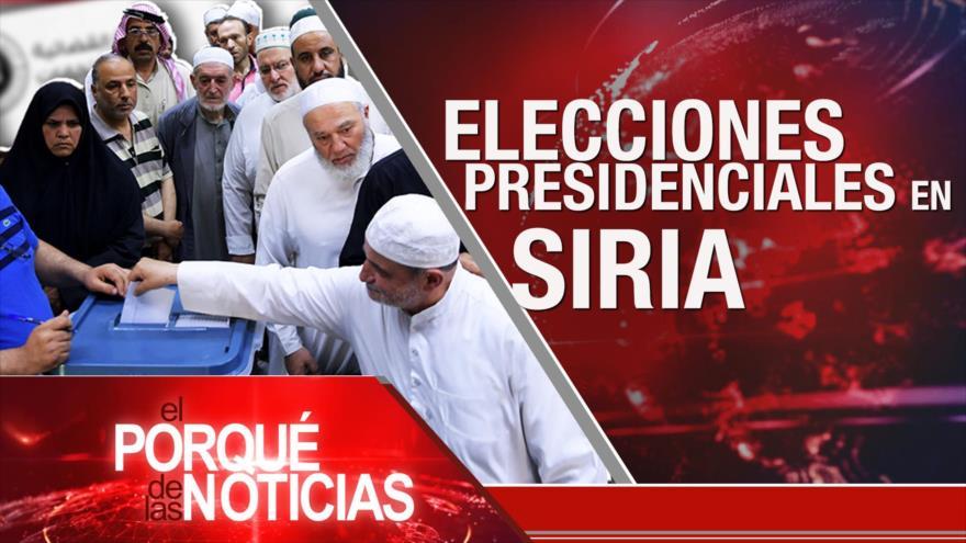 El Porqué de las Noticias: Elecciones en Siria. Tensión en Al-Quds. Injusta distribución de vacunas