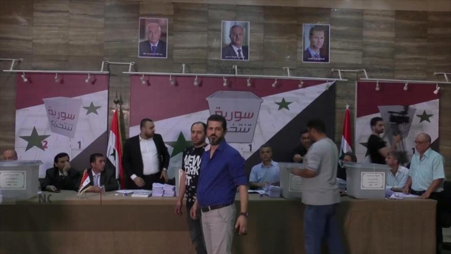 Concluye jornada de votación en Siria tras la alta participación