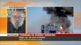 Iñaki Gil: Palestina no puede dejar su futuro en las manos de la ONU