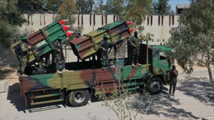 Fotos: Fuerzas de HAMAS muestran su poderío en un desfile militar