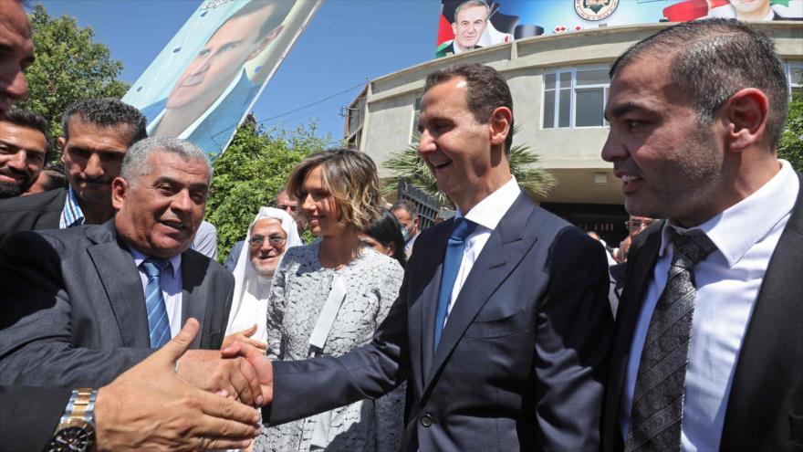 Al-Asad apuesta por trabajo y esperanza tras ganar presidenciales   HISPANTV