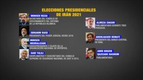 Candidatos iraníes tratan de atraer la confianza de electores