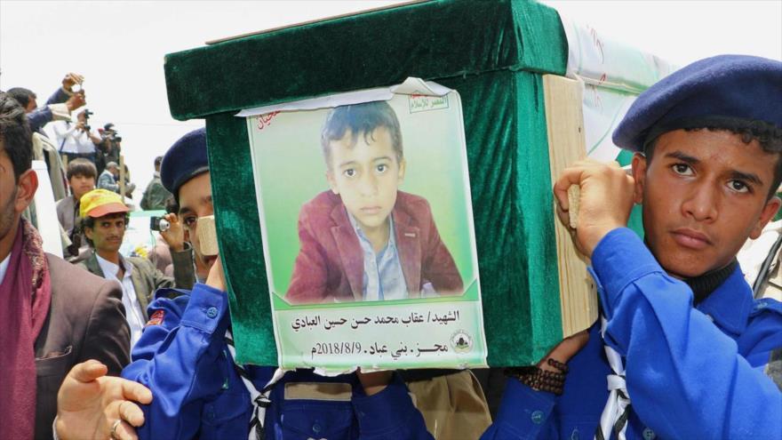 Ataque de artillería saudí mata a tres niños yemeníes en Saada   HISPANTV