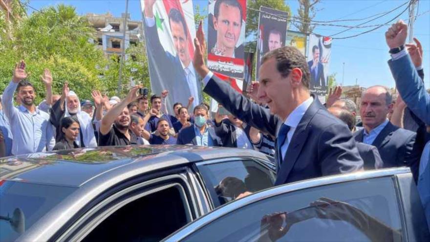 Al-Asad: Sirios desafiaron a enemigos al participar en comicios | HISPANTV