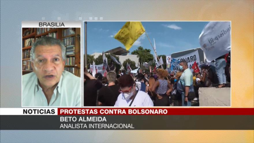 'Marchas en Brasil pueden impulsar impeachment contra Bolsonaro'