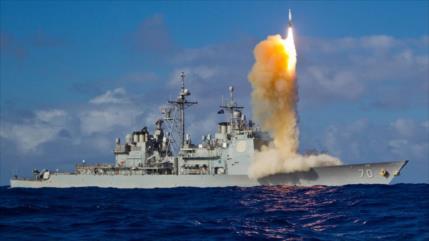 Buque militar de EEUU no logra interceptar un misil en una prueba