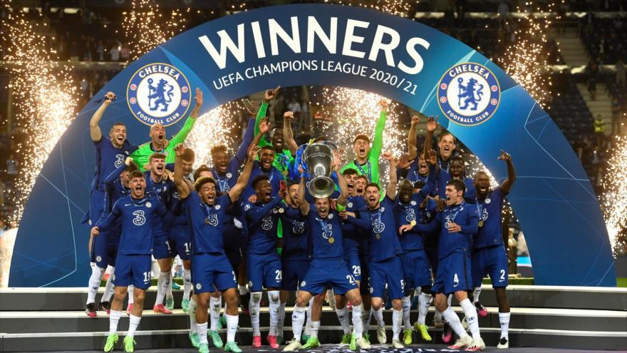 Chelsea logra su 2ª copa de Liga de Campeones de Europa